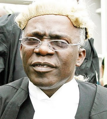 Falana petitions African Commission over unlawful arrest of Zambian activist
