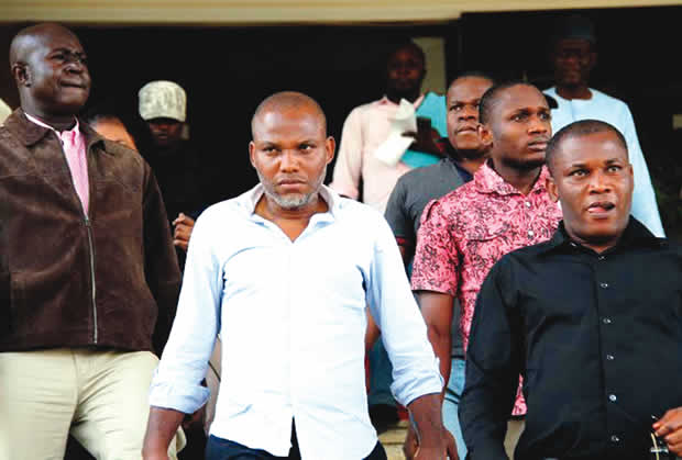 Court rules on Kanu's bail application Friday