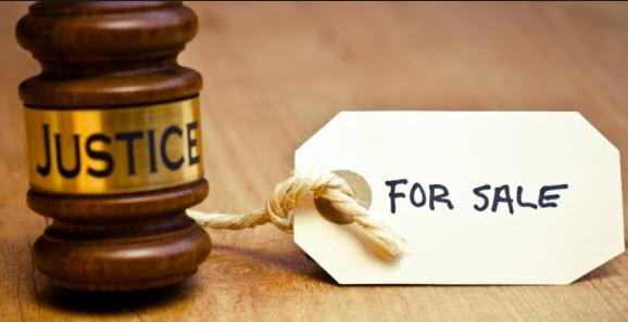 Jailing corrupt judges