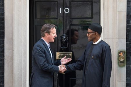 I won't demand apology from Cameron, says Buhari