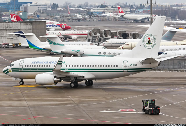 FG puts up N7bn presidential jets for sale