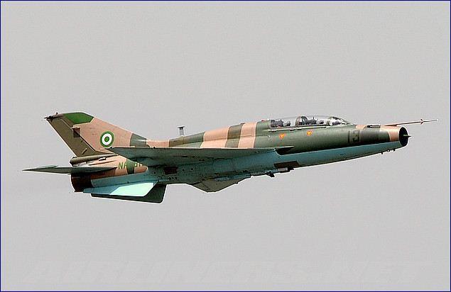Nigerian Jets Bomb Boko Haram Locations