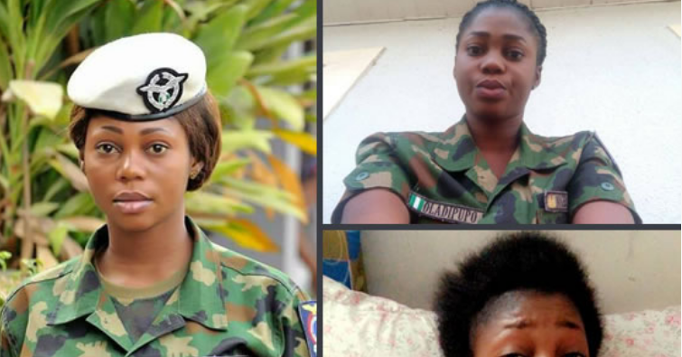 PHOTOS: Female soldier killed by jealous Airforce lover